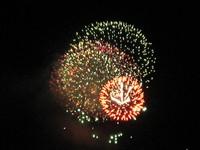 市 開催の花火