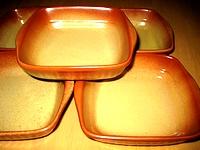 百均の四角いグラタン皿